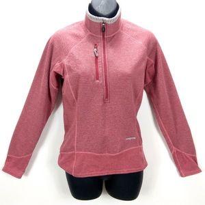 Patagonia R Fleece Pink Polartec Sweater Jacket S